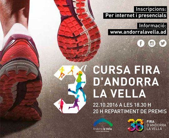 3rd Andorra la Vella Fair Run