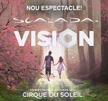 CIRQUE DU SOLEIL amb l'espectacle ESCALADA: VISION