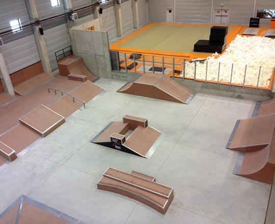 360° Extrem-Centre Freestyle Indoor d'Andorra
