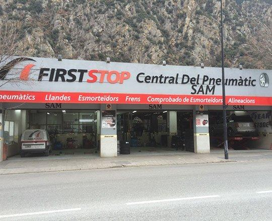 Central del Pneumàtic S.A. / FIRSTSTOP