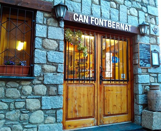 Restaurant Can Fontbernat