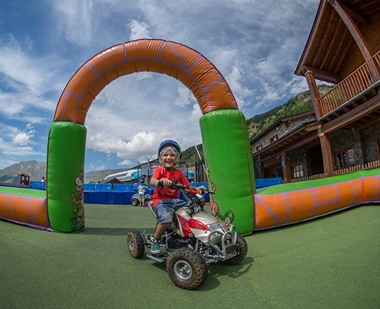 Children's area at Family Park Canillo