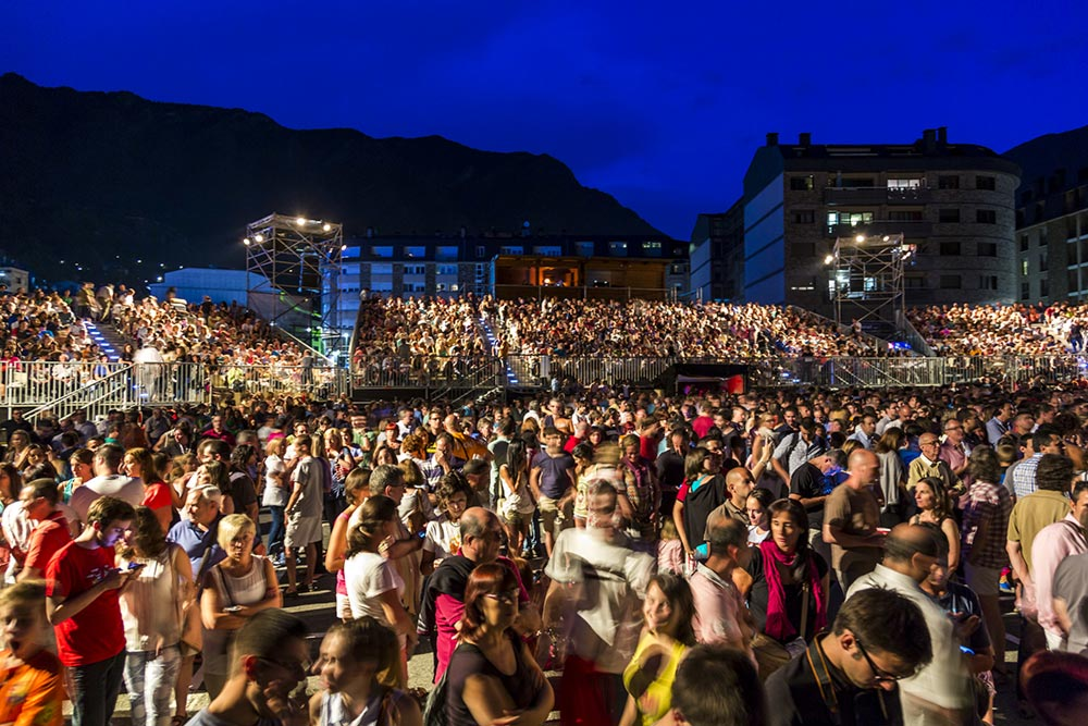 Scalada: Spectators and audience