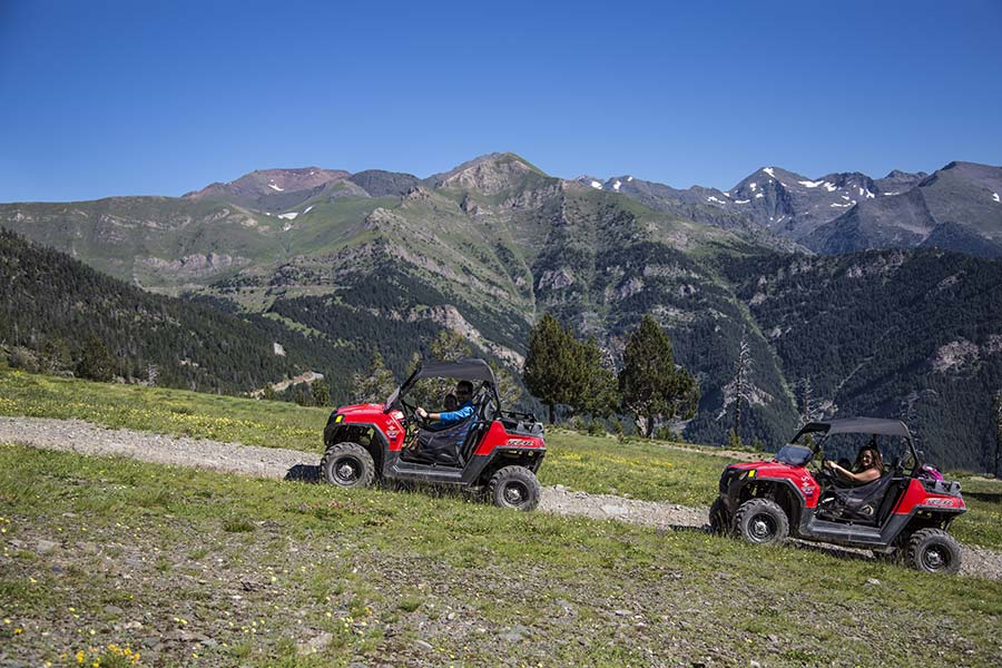 Buggies 4x4 a Vallnord