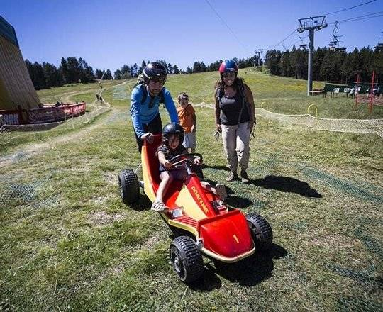 Vallnord karts descent circuit