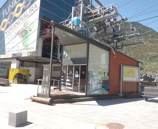 Oficina de turismo del funicamp encamp - Oficina turismo andorra ...