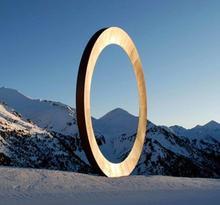 Esculturas y fuentes en Ordino