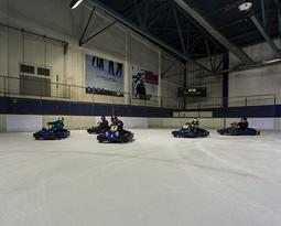 Ice karting for the young