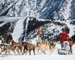 Mushing en Vallnord