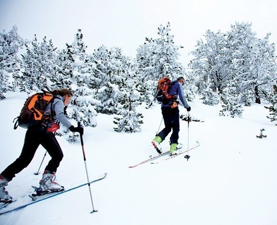 In your own way: orienteering and ski touring in Andorra