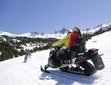 Put yourself to the test in a snow RAID