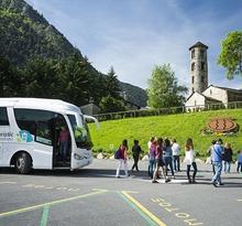 Route 2 Bus touristique d'Andorre : Paysage et habitat urbain