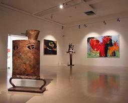 Exhibition rooms and art galleries