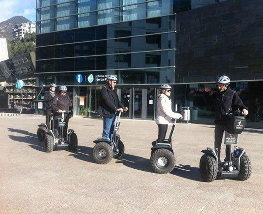 Guided Segway tours in Andorra