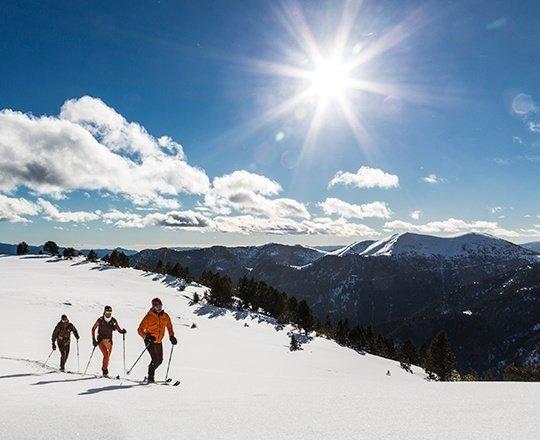 Esqui, natureza, cultura ou teleférico, em La Massana