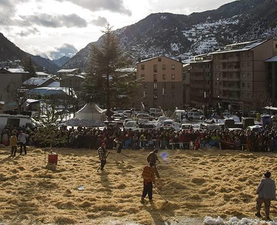 Imatge de les celebracions del Carnaval a Encamp